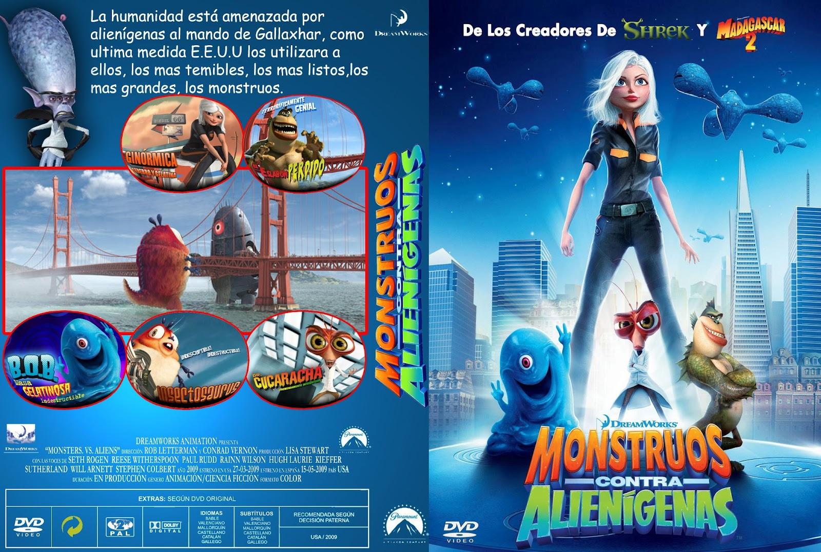 the girl from monster vs aliens naked